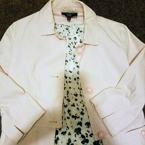 Talbots Pale Pink Twill Jacket